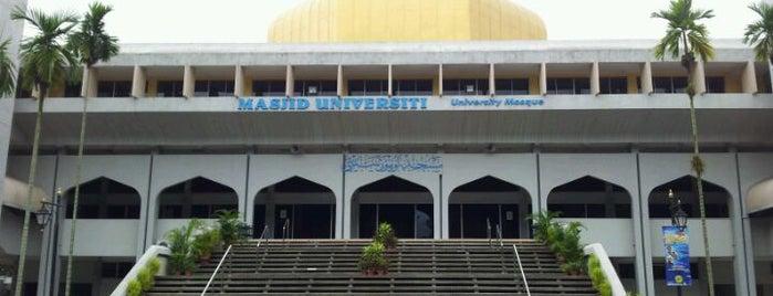Masjid UKM is one of masjid.