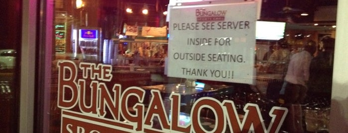 The Bungalow Sports Grill is one of places to dine.