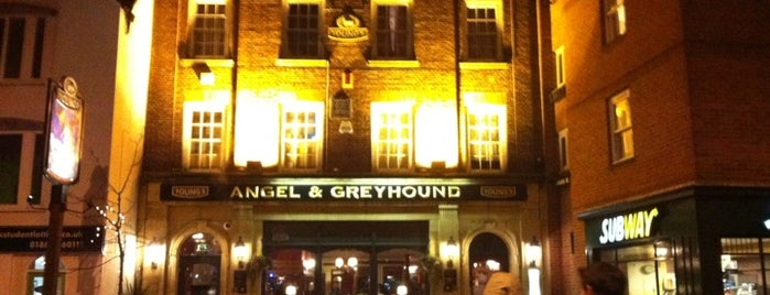 Angel & Greyhound is one of Favorite Pubs in Oxford.