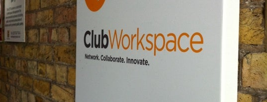 Club Workspace is one of Tech Trail: London.