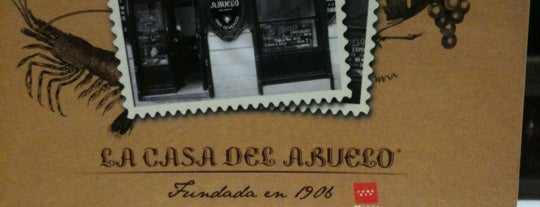 La Casa del Abuelo is one of Madrid: de Tapas, Tabernas y +.