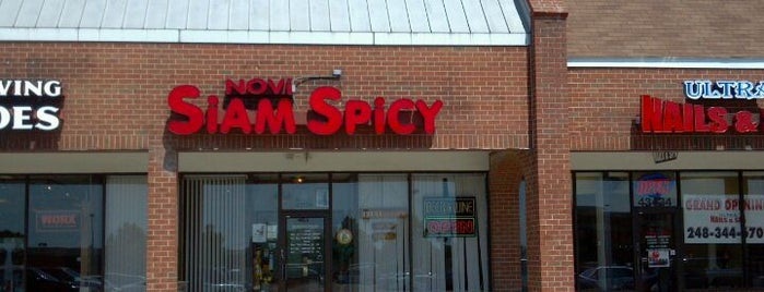 Siam Spicy is one of Michigan Restaurants.