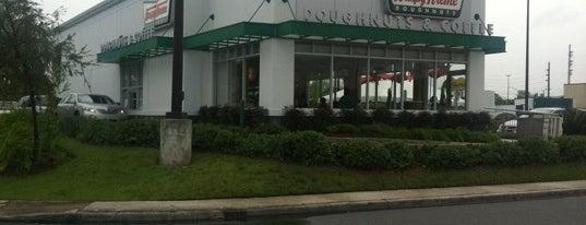 Krispy Kreme is one of Food and Bars.
