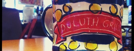 Duluth Grill is one of Diners, Drive-Ins & Dives.