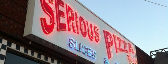 Serious Pizza is one of Central Dallas Lunch, Dinner & Libations.