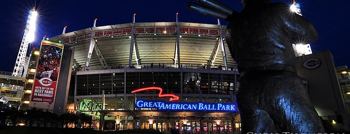Great American Ball Park is one of Photographing Cincinnati.