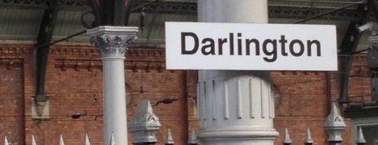 Darlington Railway Station (DAR) is one of East Coast Network.