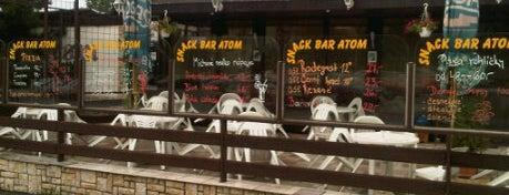 ATOM pizza-bar is one of Restaurace.