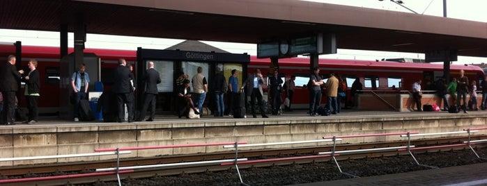 Bahnhof Göttingen is one of DB ICE-Bahnhöfe.