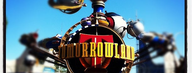Tomorrowland is one of Disneyland: The Happiest Place on Earth.