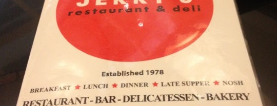 Jerry's Famous Deli is one of David & Dana's LA BAR & EATS!.