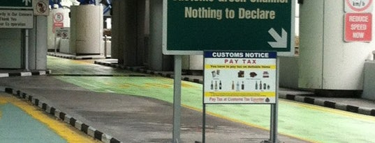 Tuas Checkpoint (Second Link) is one of .