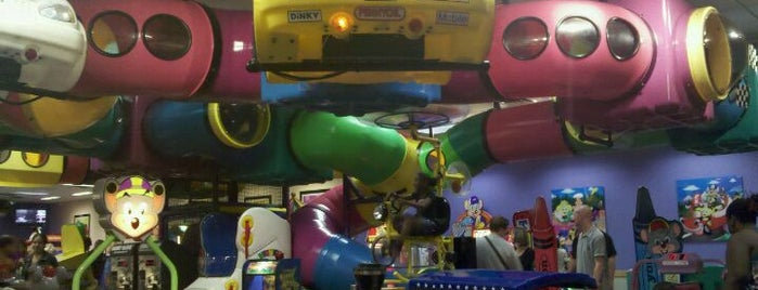 Chuck E. Cheese's is one of Things to do in Tampa Bay.