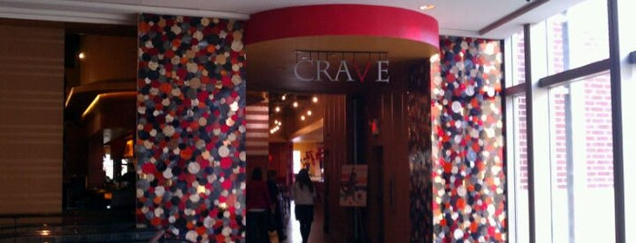 CRAVE is one of Restaurants.