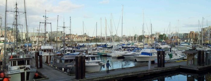 Fisherman's Wharf is one of Favorite Great Outdoors (Canadian West Coast).