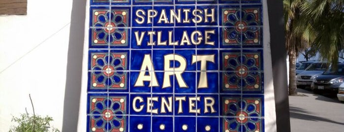 Spanish Village Art Center is one of Places to take guests in San Diego.