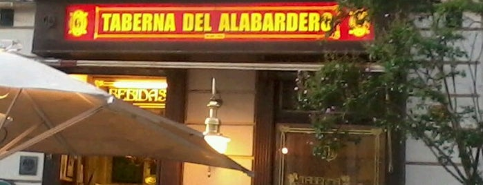 Taberna del Alabardero is one of Restaurantes Gastrofestival 2012 25€.