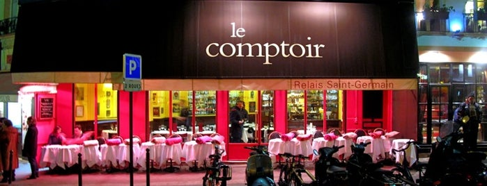 Le Comptoir du Relais is one of Quartier Latin.