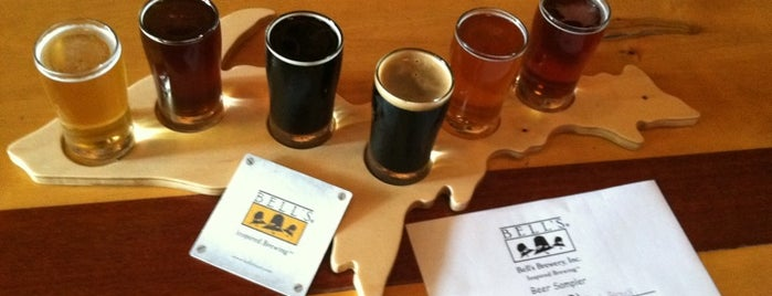 Bell's Eccentric Cafe & General Store is one of Breweries to Visit.