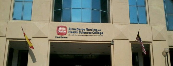 Sime Darby Nursing & Health Science College is one of Learning Centers,MY #5.