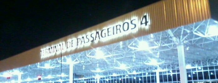 Terminal 1 (TPS1) is one of Aeroporto de Guarulhos (GRU Airport).