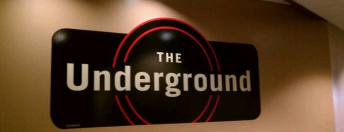 The Underground is one of Campus Dining.