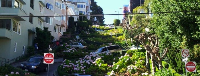 Lombard Street is one of Great City By The Bay - San Francisco, CA #visitUS.