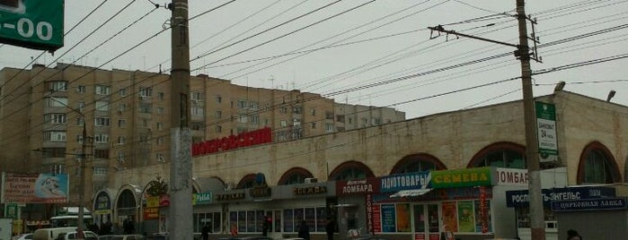 "Рынок ""Покровский "" is one of мои места."