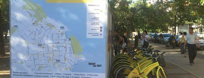 Estación 9 - Parque Las Heras [Ecobici] is one of Estaciones de Ecobici de la Ciudad de Buenos Aires.
