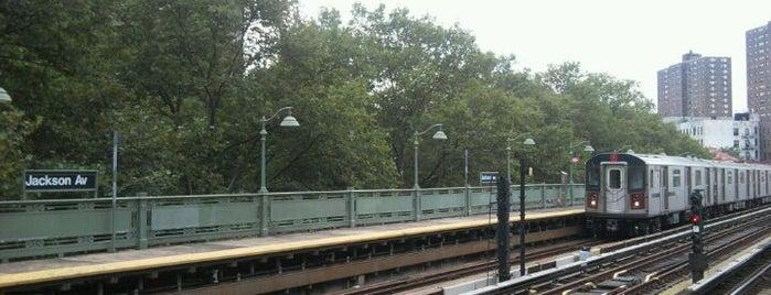 MTA Subway - Jackson Ave (2/5) is one of NYC Subways 4/5/6.