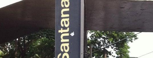 Estação Santana (Metrô) is one of Transporte.