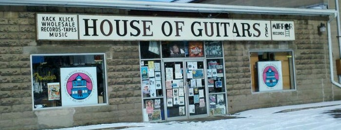 House of Guitars is one of The Best Spots In Rochester, NY.