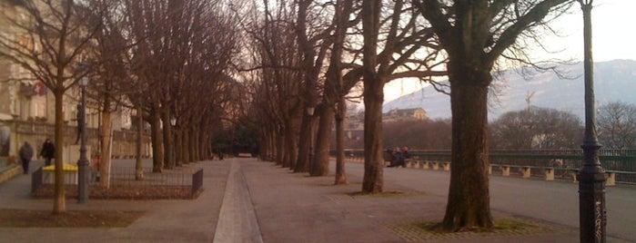 Promenade de la Treille is one of Geneva, Peace Capital of the World #4sqCities.