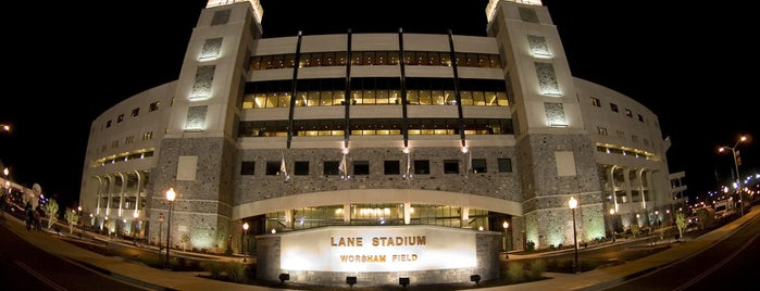 Lane Stadium/Worsham Field is one of Virginia Tech.