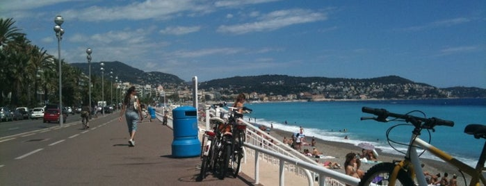 Promenade des Anglais is one of Pro-Cycling UCI World Tour 2012.