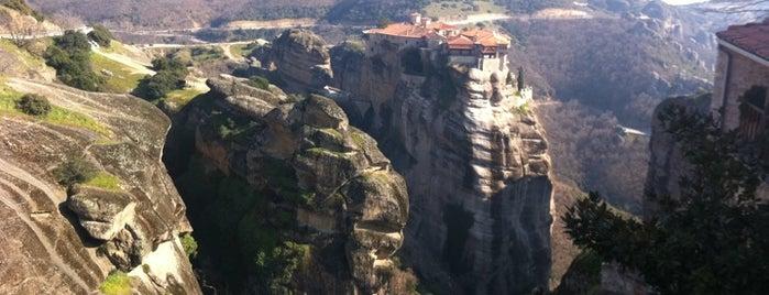 Monastery of the Great Meteoron is one of Greek gems.