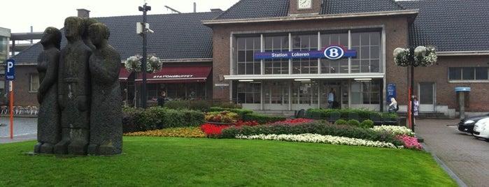 Lokeren Railway Station is one of Bijna alle treinstations in Vlaanderen.