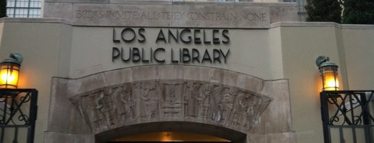 Los Angeles Public Library - Central is one of The Historical Landmarks of LA Noire.