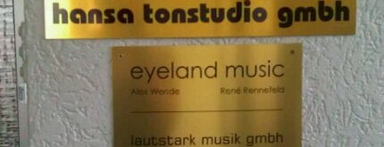 Hansa Studio is one of Berlin.