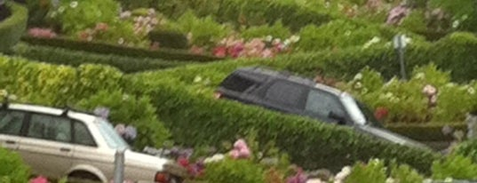 Lombard Street is one of Bay Area Places to See and Eat.