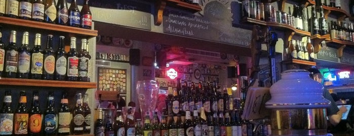 Sunset Grill & Tap is one of Draft Mag's Top 100 Beer Bars (2012).