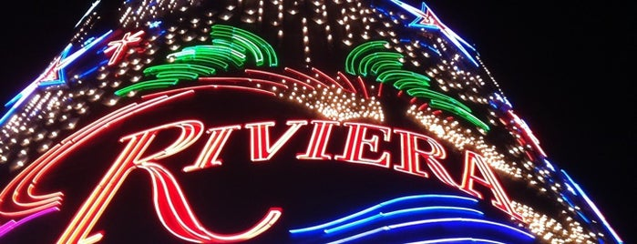 Riviera Hotel & Casino is one of Hotels.