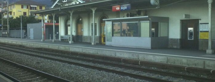Gare d'Aigle is one of Bahnhöfe.