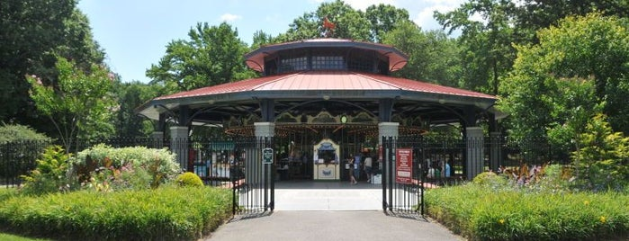 Willowbrook Park Carousel is one of A Guide To NYC's Carousels.