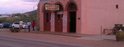 The Original Bird Cage Theatre Of Tombstone is one of Haunted to-do list.
