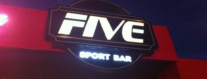 Five Sport Bar is one of Restaurantes.