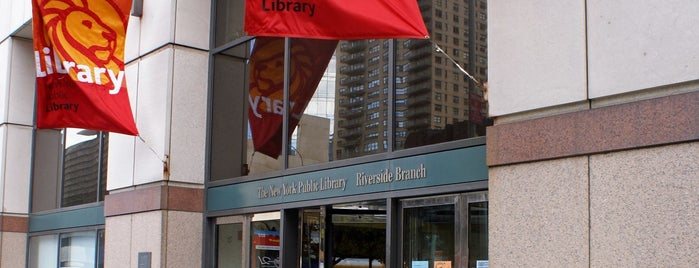 New York Public Library - Riverside Library is one of New York Public Libraries.