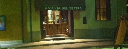 Osteria Del Teatro is one of Bologna city.