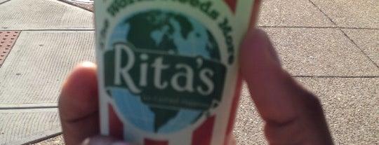 Rita's Italian Ice is one of DC.