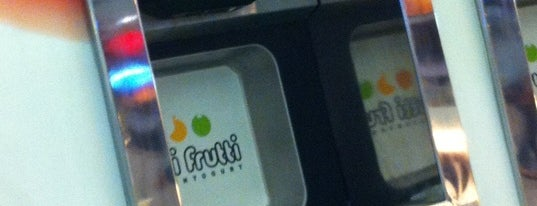 Tutti Frutti is one of Uber Yogurt.